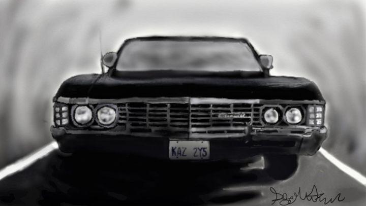 1967 Chevy Impala - Polar Von Winter