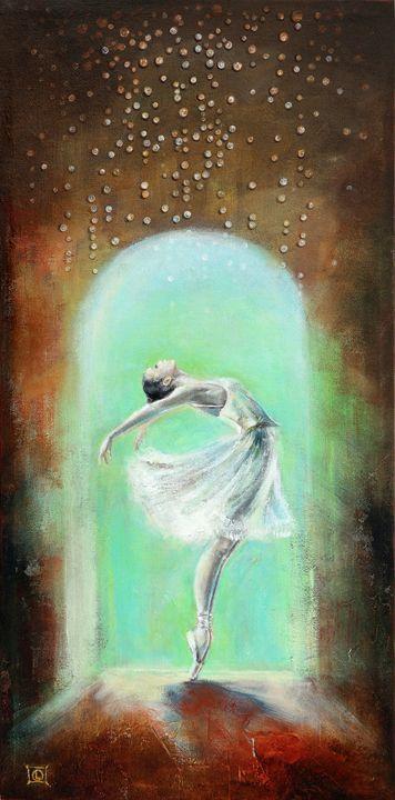 Dancing in the rain - LiubicevaArt