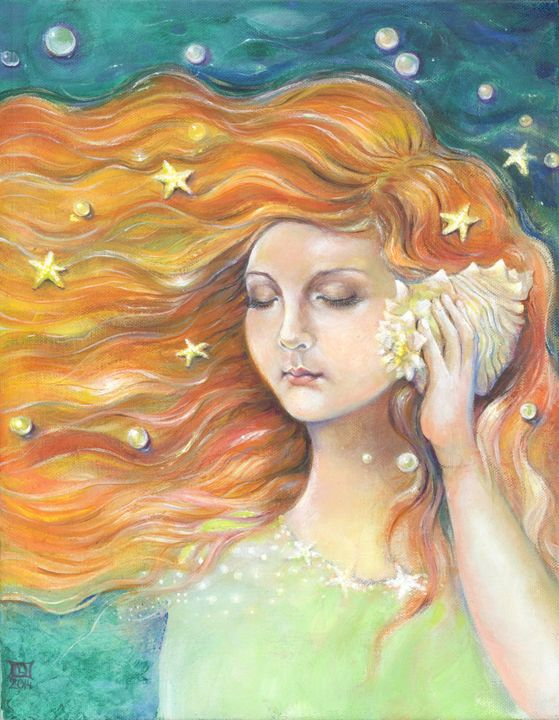 Seashell music - LiubicevaArt
