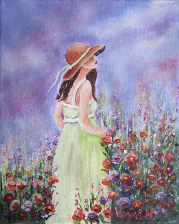 Flower Garden - Vesna Martinjak