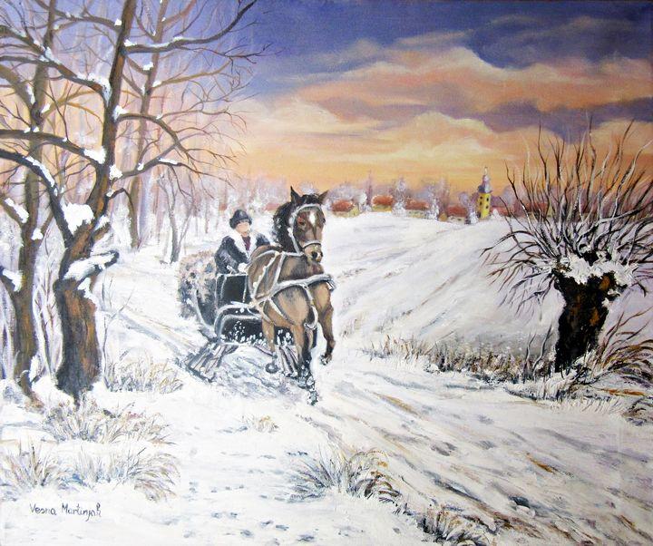 Magical winter - Vesna Martinjak