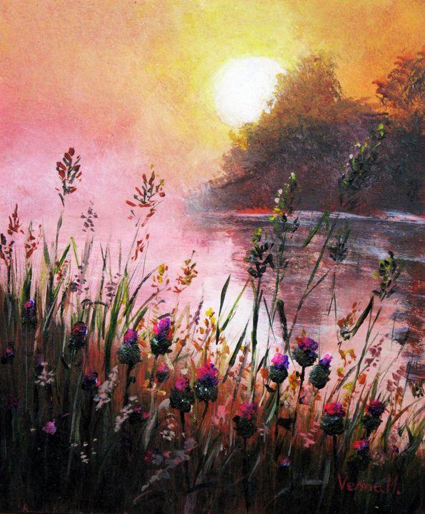 morning on the river - Vesna Martinjak