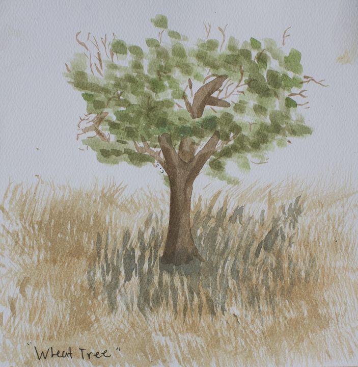 Wheat Tree - SuplitaArt