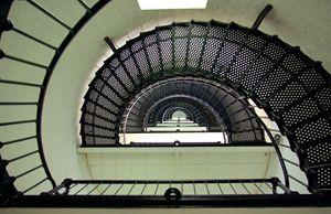 Looking Up the Light House - GullPhoto Art