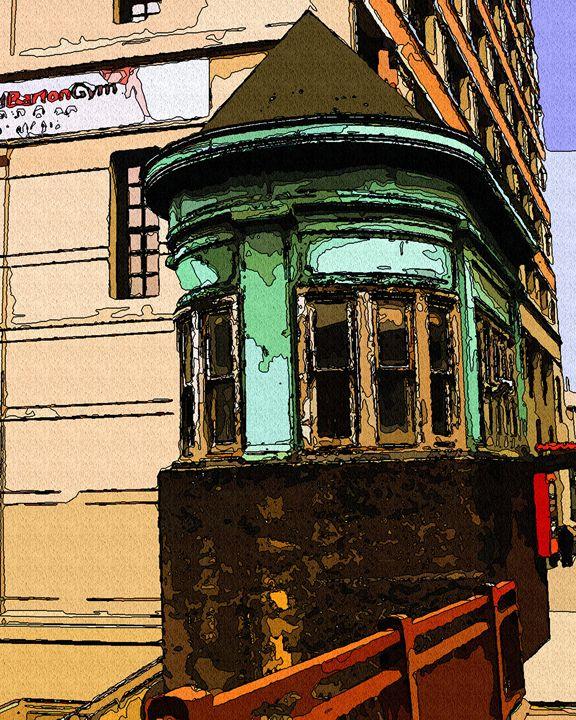 Operator House Chicago Ave Bridge - GullPhoto Art