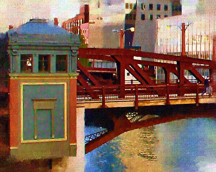 Washington St. Bridge - GullPhoto Art