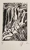 Signed Linocut Print