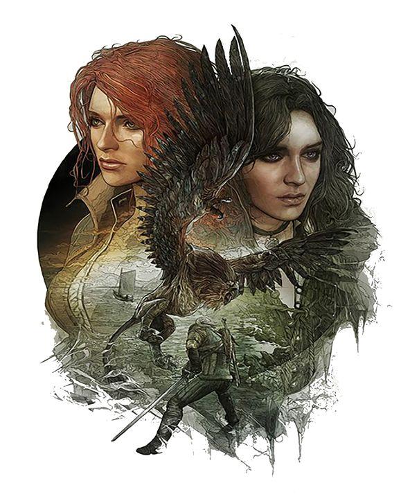 Triss and Yennefer - GamersRespite