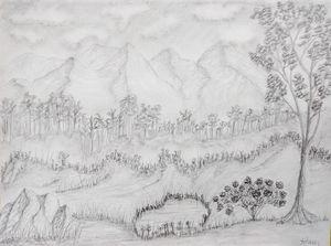 Rodidendrin Bush Landscape