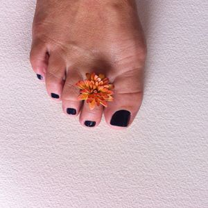 Peach Flower Ring