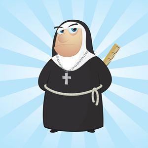 Nun with a Ruler