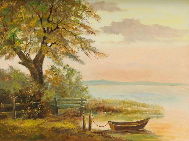 Lakeside - The Art of Vonda Fletcher