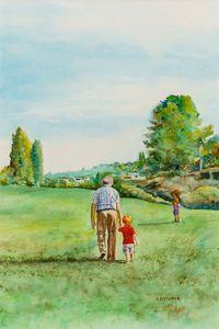 Walkin' With Grandpa