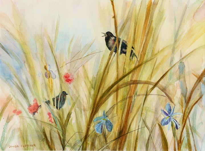 Morning Song - The Art of Vonda Fletcher