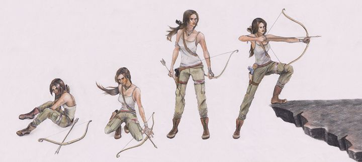 Tomb Raider - Karmaela by Michelle Zhang: Art | Fashion | Design