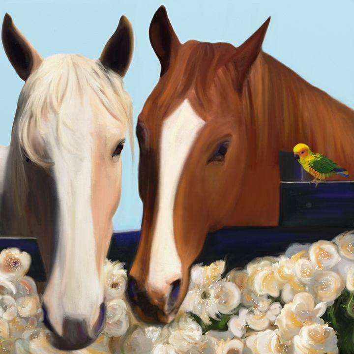 Horse Whispers - Julianne Ososke
