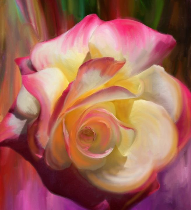 Pink Rose - Julianne Ososke