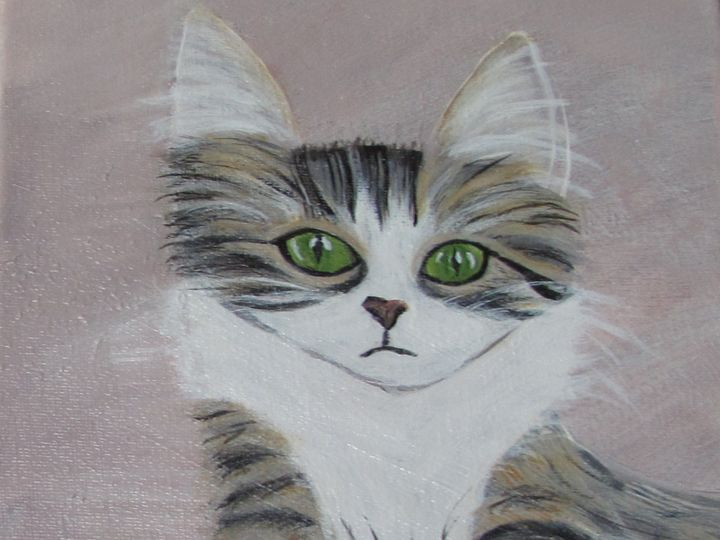 Green Eyes - Sue's Art