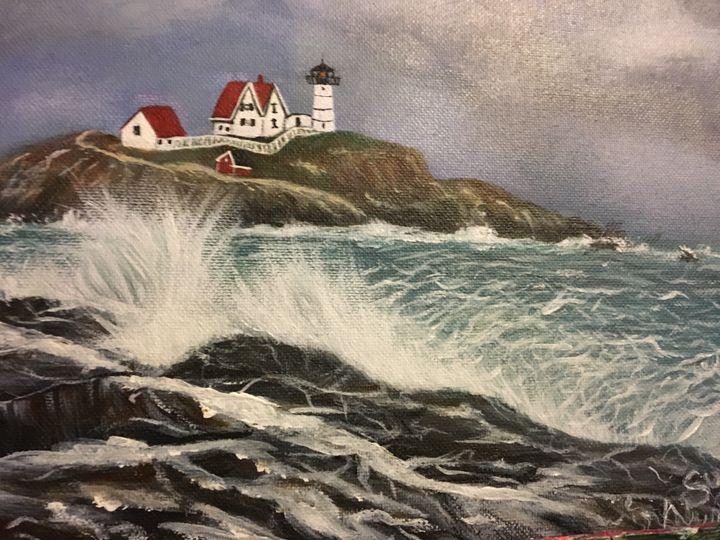 Nubble Light-Maine - Sue's Art