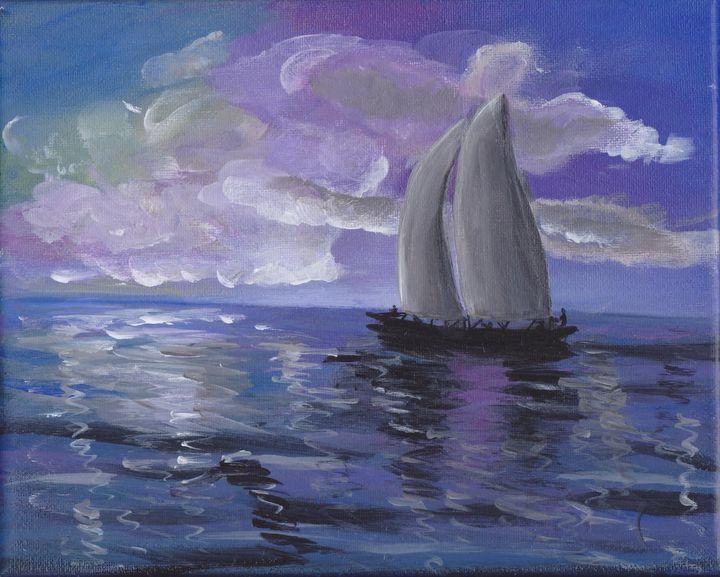 TWILIGHT SAIL - Sue's Art