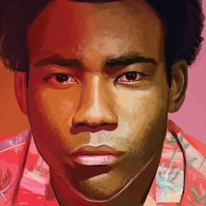 Childish Gambino Portrait