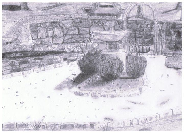 Pond - Amanda Reyes Gallery