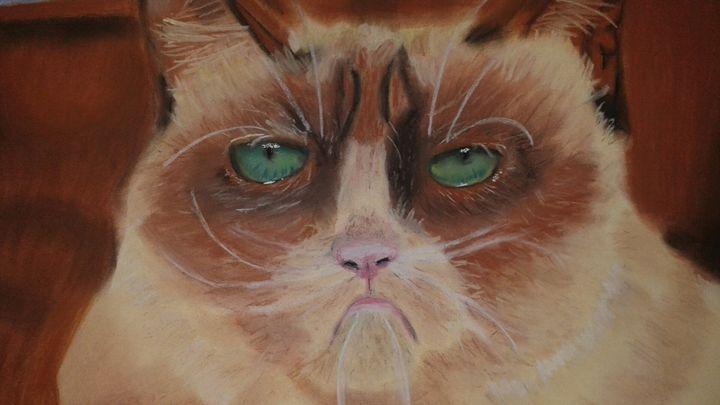 Grumpy's Cat Cousin - Amanda Reyes Gallery