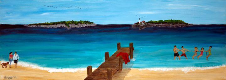 Summer Fun - Heijdi's fantastic painted World