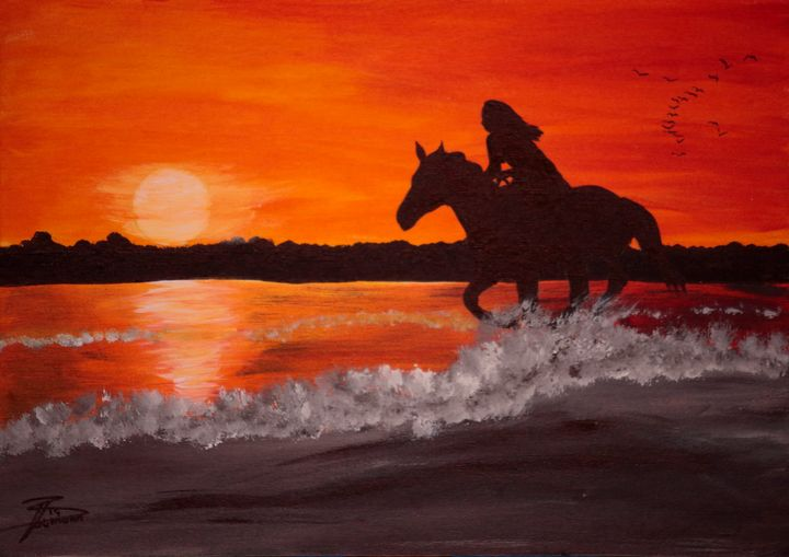 Ride into the Sunset / 01 - Heijdi's fantastic painted World