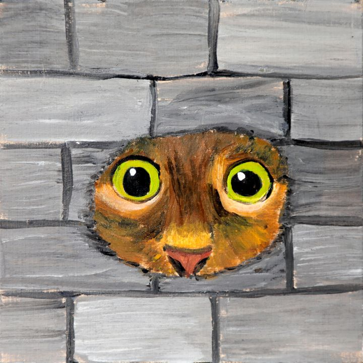 Cat - 07-LSU - Heijdi's fantastic painted World
