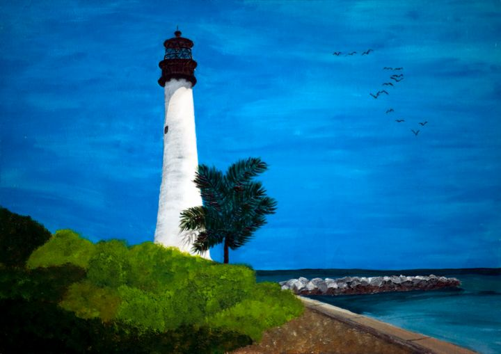 Cape Florida / 01 - Heijdi's fantastic painted World