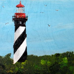 St. Augustine - 02-LSU - Heijdi's fantastic painted World