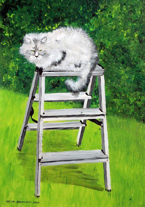 Trim the hedge? - Heijdi's fantastic painted World