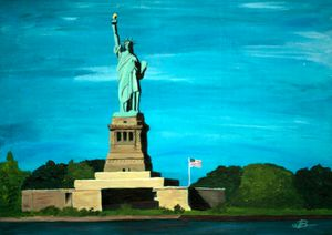 Lady Liberty / 02 - Heijdi's fantastic painted World
