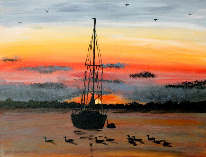 Sunset - 02 - Heijdi's fantastic painted World
