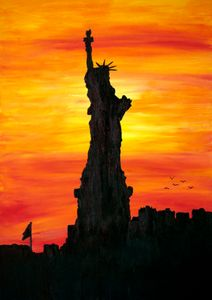 Lady Liberty / 01 - Heijdi's fantastic painted World