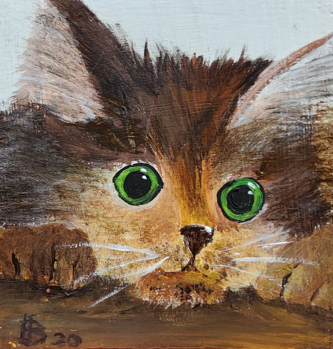 Sweet Kitten LSU - Heijdi's fantastic painted World
