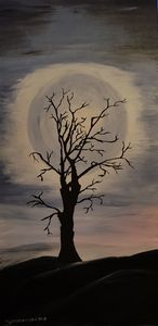 the old tree - Heijdi's fantastic painted World