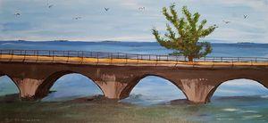 The Old 7-Mile Bridge Florida Keys - Heijdi's fantastic painted World