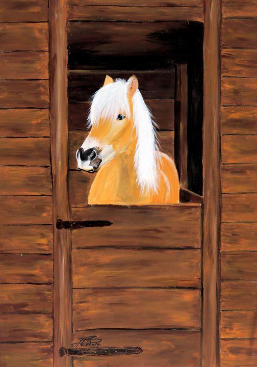 Sweet Pony - Heijdi's fantastic painted World