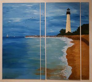 Cape Florida Light /04 - Heijdi's fantastic painted World