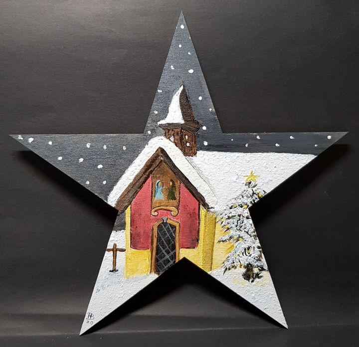X MAS Star 02 - Heijdi's fantastic painted World