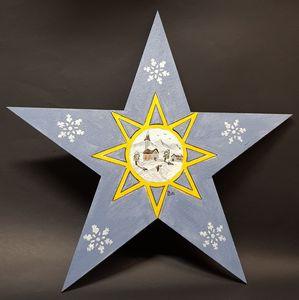 X MAS Star 03 - Heijdi's fantastic painted World