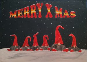 X Mas Elf`s - Heijdi's fantastic painted World