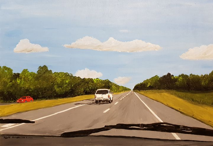 On the way - Heijdi's fantastic painted World
