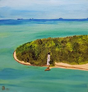 Cape florida small - Heijdi's fantastic painted World