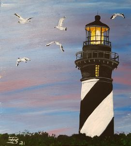 Lighthouse 01 - Heijdi's fantastic painted World
