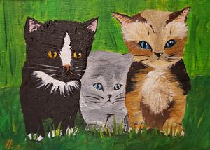 The Baby Cats 01 - Heijdi's fantastic painted World