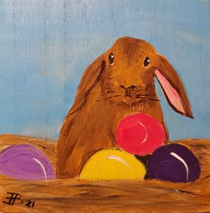 Easter Bunny 04 - Heijdi's fantastic painted World