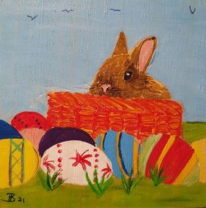 Easter Bunny 03 - Heijdi's fantastic painted World